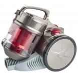 Пылесос Scarlett SC - VC80C04, серый/красный
