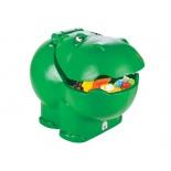 ящик для игрушек Pilsan Hungry Hipo (06-188), зеленый