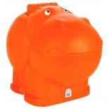 ящик для игрушек Pilsan Hungry Hipo (06-188), оранжевый