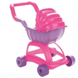 транспорт для кукол Коляска Pilsan Candy Stroller (07-603), розово-сиреневая