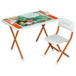 комплект детской мебели ДЭМИ Damibaby evro Джейк и пираты Нетландии оранжевый