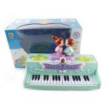 музыкальная игрушка Наша Игрушка Сладкая парочка, Синтезатор (BB393) запись, свет