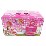 игрушки для девочек Наша Игрушка  Кухня на ножках (3557) набор розовый