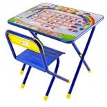 комплект детской мебели Дэми 1 Алфавит (АС.1) синий