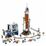Конструктор LEGO Город 60228 Ракета для запуска в далекий космос и пульт управления запуском, купить за 6 465руб.