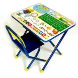 комплект детской мебели Дэми 1 Глобус (ССД.02 РГ) синий