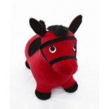мяч-попрыгун Лошадка Наша игрушка 63799, красная