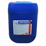 бытовое хим. средство Маркопул Кемиклс Эмовекс М47 30 л (34кг) канистра, жидкий хлор для дезинфекции воды