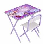 комплект детской мебели Дэми 1 Принцесса София (ПС.1.Ф) фиолетовый