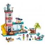 конструктор LEGO Подружки (41380) Спасательный центр на маяке