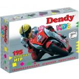 игровая приставка Dendy Kids (195 игр) черная