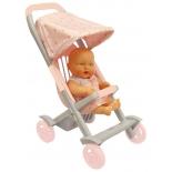 транспорт для кукол Коляска малая Огонек для пупсов С-1497