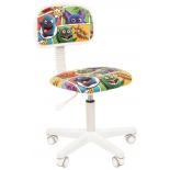 Компьютерное кресло Chairman Kids 101 ткань монстры (7027821), купить за 3 325руб.