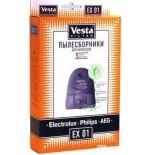 аксессуар к бытовой технике Vesta EX01, комплект пылесборников
