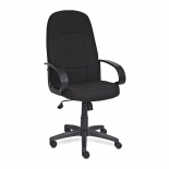 компьютерное кресло TetChair СН747 ткань, черный