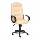 кресло офисное TetChair DEVON кож/зам, бежевый, 36-34