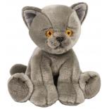 игрушка мягкая Maxitoys Котик серый 30 см (MT TSC091708 30)