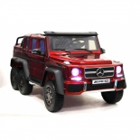 электромобиль RiverToys Mercedes-Benz G63 AMG 4WD, красный глянец