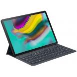 чехол для планшета Samsung для Samsung Tab S5e SM-T720/725, встроенная клавиатура и интерфейс POGO (EJ-FT720BBRGRU), черный