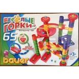 конструктор Bauer Веселые горки 273 (65 деталей)