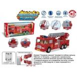 Игрушки для мальчиков Пожарная машина Наша игрушка (ZY437287) с подсветкой, купить за 800руб.