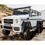 электромобиль RiverToys Mercedes-Benz G63 AMG 4WD white