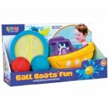 игрушка для купания Набор Наша Игрушка Веселая лодочка (100991703)
