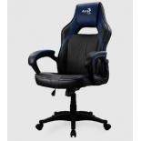 игровое компьютерное кресло Aerocool AC40C AIR , черно-синее