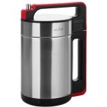 блендер Smile SMB 3700, серебристый металлик / красный
