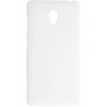 чехол для смартфона skinBOX 4People, для Lenovo Vibe P1, защитная пленка в комплекте, белый