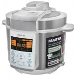 мультиварка Marta MT-4309, белая/сталь