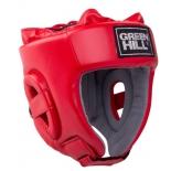 шлем боксерский Green Hill Training HGT-9411, красный, размер: S