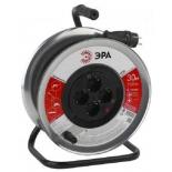 удлинитель электрический ЭРА RM-4-3x1.5-30m-IP44, металлическая катушка