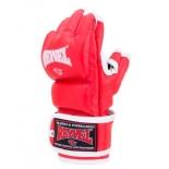 Перчатки боксерские Reyvel ММА, кожзам, красный, размер: M, купить за 1 190руб.