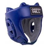 шлем боксерский Green Hill Training HGT-9411, синий, размер: XL