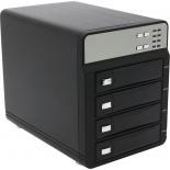 """Корпус для жесткого диска Agestar 3C4B3A1 (4x3.5"""", eSATA/USB3, RAID), чёрный, купить за 6 760руб."""