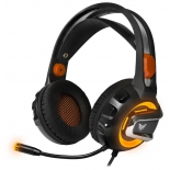 гарнитура для ПК Crown CMGH-3003, черно-оранжевый