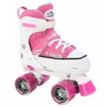 роликовые коньки HUDORA Roller Skate разм.28-31, розовый