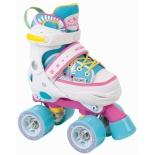 Роликовые коньки HUDORA Skate Wonders р.32-35, розовый/голубой, купить за 5 000руб.