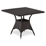 стол садовый Afina T190BD-W52-90х90 Brown (декинг)