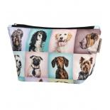 косметичка Nosimoe 90011 L собаки портреты 25х15х10 см