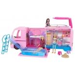 транспорт для кукол волшебный раскладной фургон Barbie (FBR34)