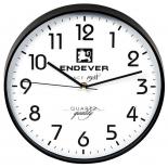 часы шахматные ENDEVER RealTime 112 черно-белый батарейка 1хАА