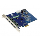 контроллер (плата расширения для ПК) VIA VL800 (4 порта USB 3.0, PCI-E)