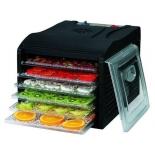 сушилка для овощей и фруктов Kelli KL-5085 (23 л, 6 лотков, 500 Вт), черная