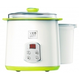 йогуртница VES H-270 белый/зелёный
