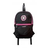 рюкзак городской Globber 524-132 Junior, черно-розовый