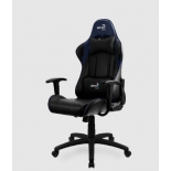 игровое компьютерное кресло Aerocool AC100 AIR черно-синее