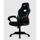 игровое компьютерное кресло Aerocool AERO 2 Alpha , черно-синее
