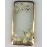 чехол для смартфона SkinBox 4People для Samsung Galaxy A3 2017 (T-S-SGA32017-009), золотистый